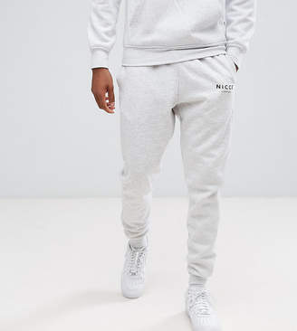 Nicce London skinny joggers in gray exclusive to ASOS