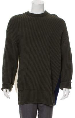 Cédric Charlier Ribbed Crew-Neck Sweater
