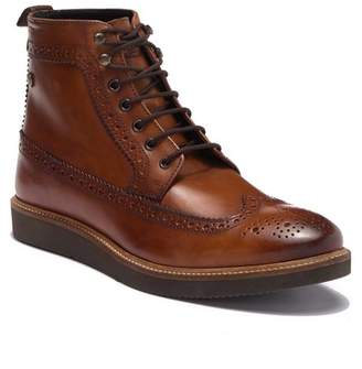 Base London Nebula Wingtip Leather Boot