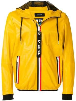 Diesel zipped hooded jacket