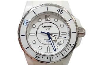 Chanel J12 Marine White Steel Watches