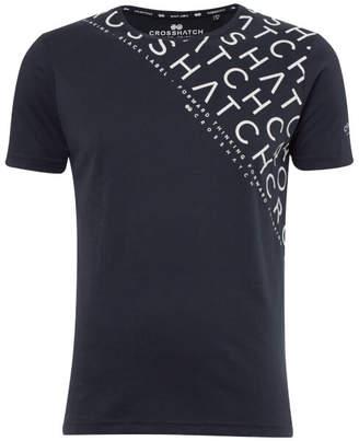 Crosshatch Men's Leeroy T-Shirt - Night Sky