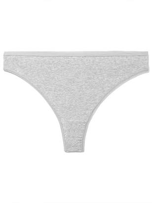 Basic Heathered Thong - Deesse Collection