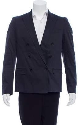 CNC Costume National Double-Breasted Peak-Lapel Blazer