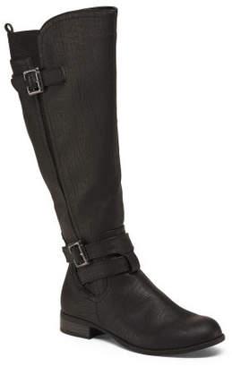 Wide Calf Wide Width Knee High Boots