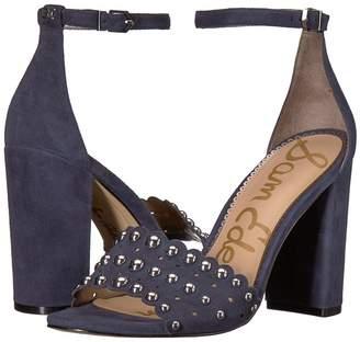 Sam Edelman Yaria Ankle Strap Sandal Heel Women's Sandals