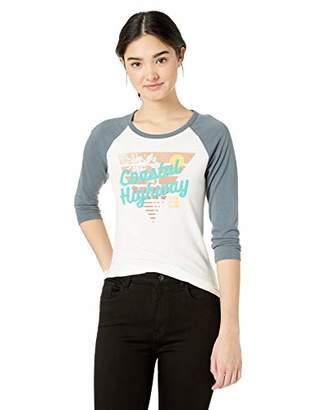 Roxy Junior's Coastal Highway 3/4 Sleeve Raglan T-Shirt