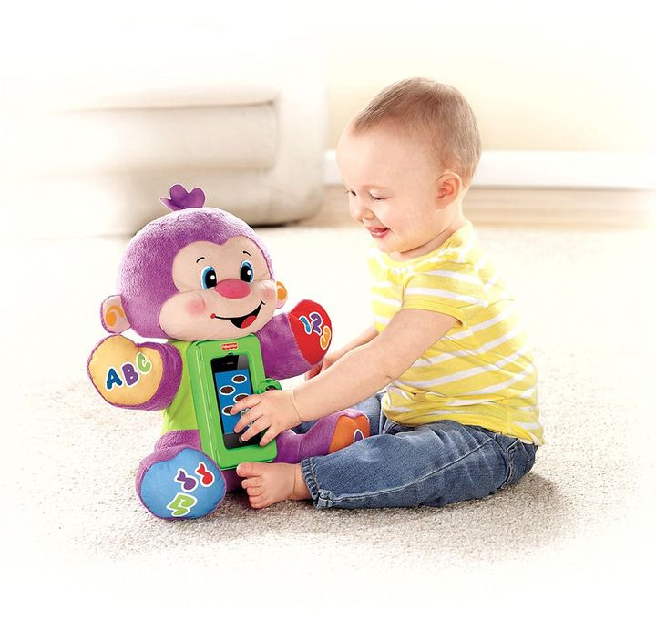 Fisher-Price laugh & learn apptivity monkey