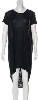 Kimberly Ovitz Scoop Neck Midi Dress Black Scoop Neck Midi Dress