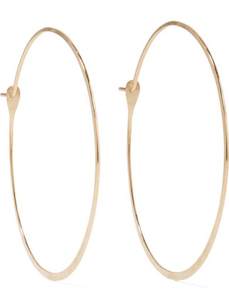 Melissa Joy Manning - 14-karat Gold Hoop Earrings - one size $390 thestylecure.com