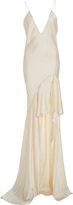 Silk-Satin Gown