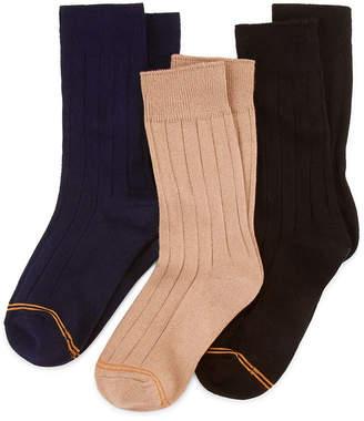 Gold Toe 3-pk. Dress Socks - Boys