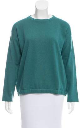 Brunello Cucinelli Woman Crystal-embellished Open-back Cashmere And Silk-blend Top Grey Green Size M Brunello Cucinelli Free Shipping Fake Outlet With Paypal Order Online Szx7i