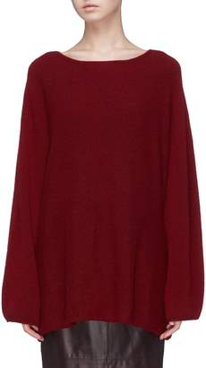 The Row 'Clyde' cashmere-silk knit sweater