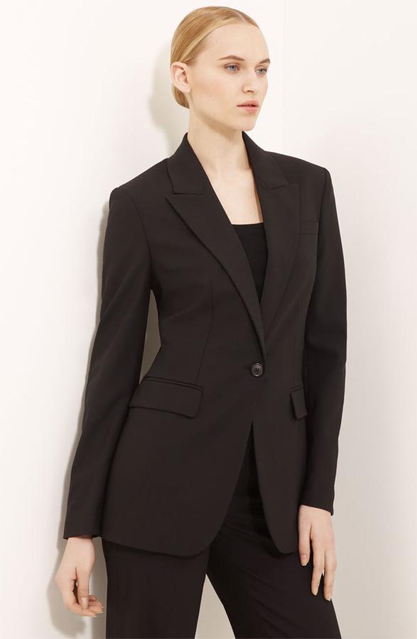 Michael Kors Long One Button Jacket