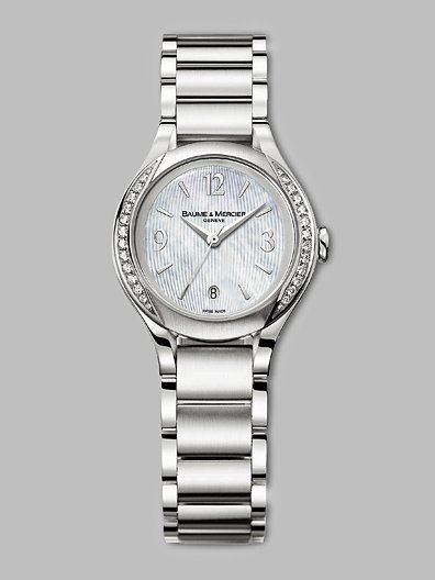 Baume & Mercier Ilea Diamond Bezel Watch