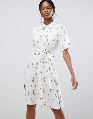 c7c16113da2 Liquorish Cactus Print Midi Dress