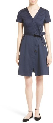 Women's Ted Baker London Advina Crossover Dress $279 thestylecure.com