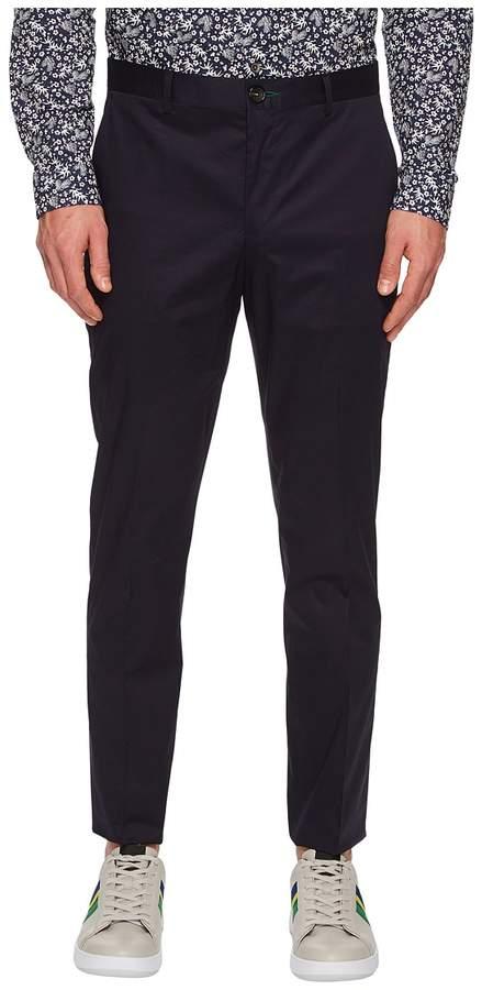 Paul Smith Cotton Stretch Pants Men's Casual Pants