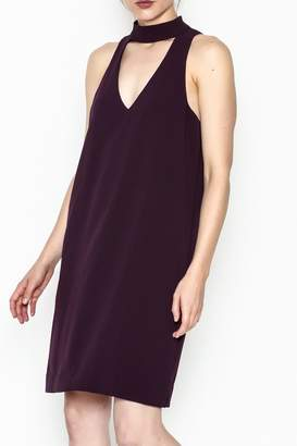 Fifteen-Twenty Fifteen Twenty Mock Neck Dress