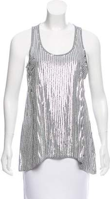 MICHAEL Michael Kors Sequined Sleeveless Top w/ Tags