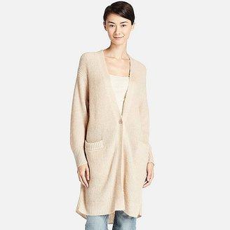 Women Mohair Blend Long Cardigan $39.90 thestylecure.com