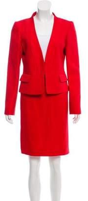 Valentino Textured Skirt Suit