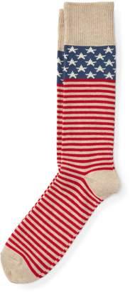 Ralph Lauren Stars & Stripes Boot Socks