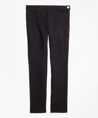 Brooks Brothers Girls Knit Ponte Skinny Pants