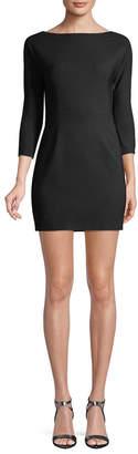 DSQUARED2 Wool Blend Mini Dress