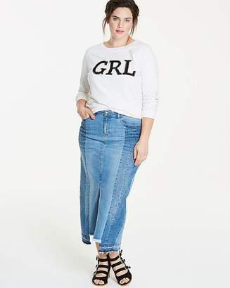 Fashion World Fern Deconstructed Maxi Skirt