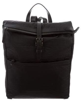 Mismo Escape Leather-Trimmed Backpack