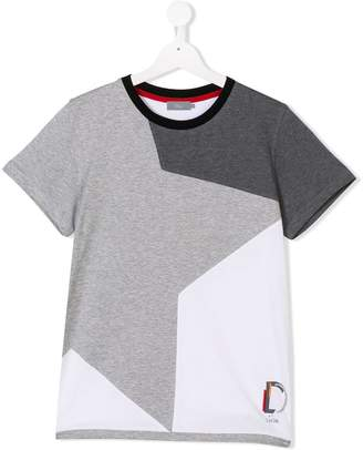 Christian Dior TEEN star logo printed T-shirt