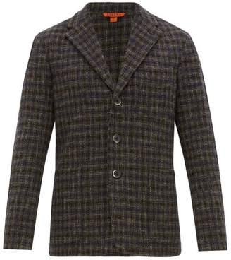 Barena Venezia - Torceo Checked Tweed Blazer - Mens - Navy Multi