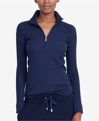 Lauren Ralph Lauren Waffle-Knit Pullover $69.50 thestylecure.com
