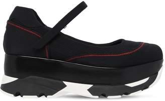 Marni 80mm Mary Jane Neoprene Sneakers