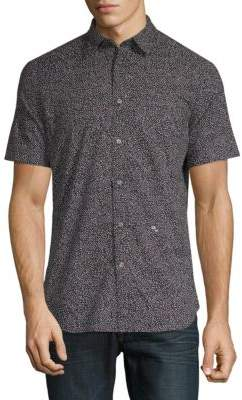 Diesel S-Dove Printed Button-Down Shirt