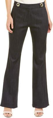 Derek Lam 10 Crosby Grommet Flare Trouser
