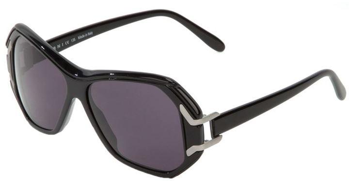 Marni Vintage large frame sunglasses