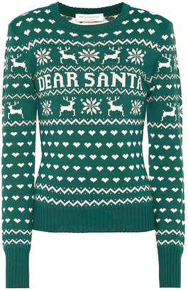 Philosophy di Lorenzo Serafini Dear Santa virgin wool sweater