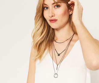 Oasis GEO MULTI LAYERED NECKLACE