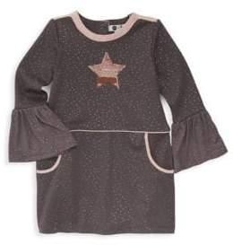 Petit Lem Little Girl's Bell Sleeve Shift Dress