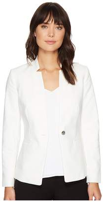 Vince Camuto One-Button Notch Collar Blazer Women's Jacket