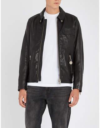 Diesel L-Giota leather jacket