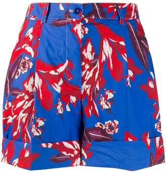 P.A.R.O.S.H. floral shorts