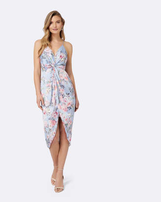Forever New Summer Knot Front Maxi Dress