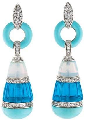 Angélique de Paris Chinoiserie Earrings