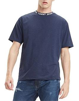 Tommy Jeans Tjm Heather Branded Collar Tee