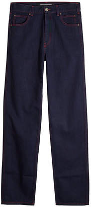 Calvin Klein Straight Jeans with Contrast Stitching