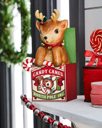 Bethany Lowe Retro Reindeer in Box